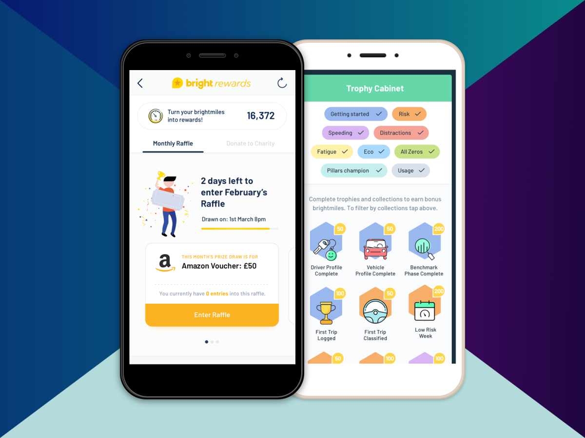 Rewards and Trophies in the Brightmile App